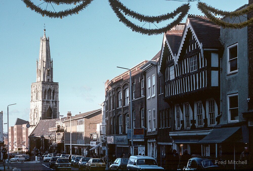 St Nicholas Gloucester 19810115 0005  by Fred Mitchell