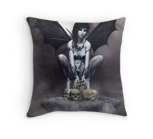 Unseelie - the Unblessed Fae Throw Pillow