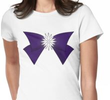 Sailor Saturn Bow (Crystal) Womens Fitted T-Shirt