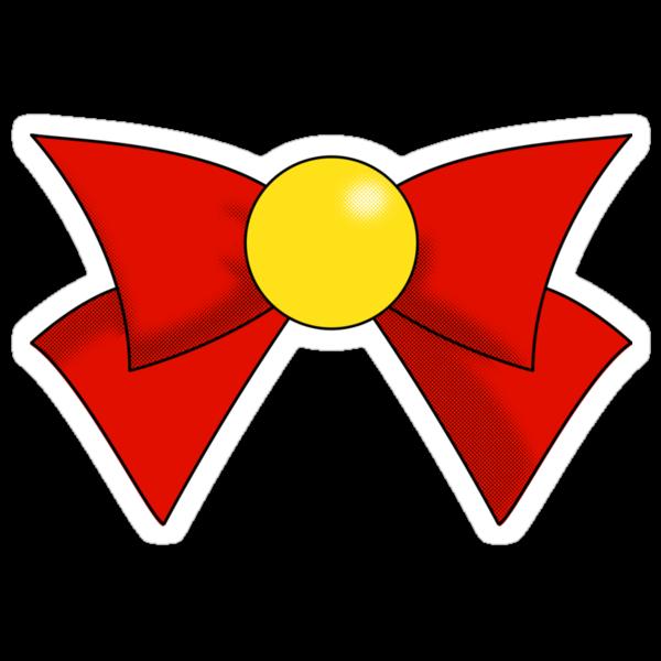 Sailor V Bow by trekvix