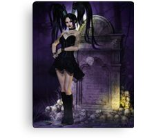 Widow's Web Canvas Print