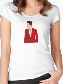 Red Suit Women's Fitted Scoop T-Shirt