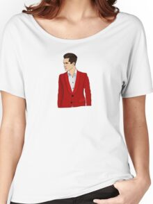 Red Suit Women's Relaxed Fit T-Shirt