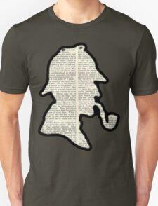 Classic Sherlock Holmes Silhouette - Scandal in Bohemia T-Shirt