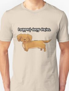 Derpy Doxies (Brown) T-Shirt