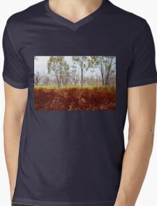Outback lakeview, off highway between Lightning Ridge and Moree, NSW T-Shirt