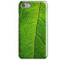 Leaf Macro iPhone Case/Skin