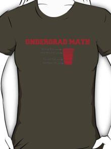 Undergrad Math T-Shirt