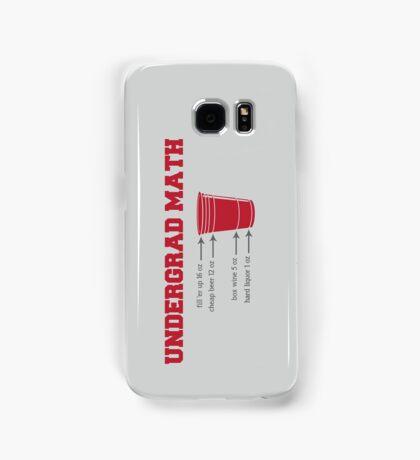Undergrad Math Samsung Galaxy Case/Skin