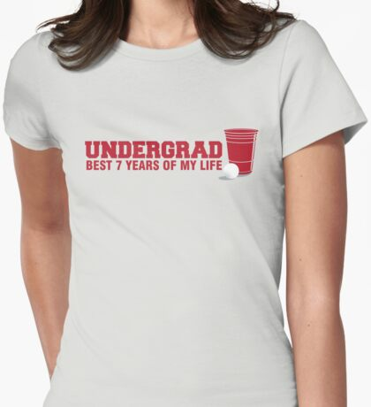 Undergrad Womens Fitted T-Shirt