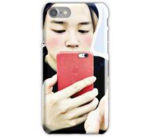 jimin selca iPhone Case/Skin