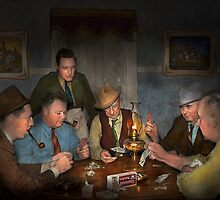 Poker - Poker face 1939 by Mike  Savad