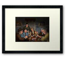 Poker - Poker face 1939 Framed Print