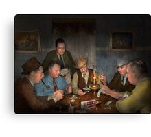 Poker - Poker face 1939 Canvas Print