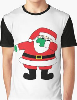 Santa Claus Dab Graphic T-Shirt