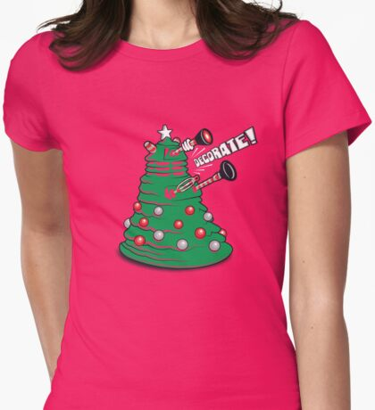 DECORATE! Womens Fitted T-Shirt