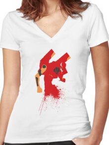 Unit 02 Women's Fitted V-Neck T-Shirt