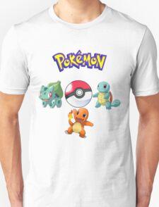 Pokemon- The Starters T-Shirt