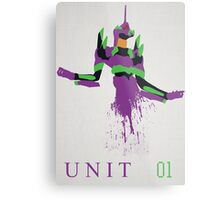Unit 01 Metal Print