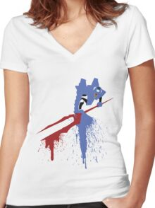Unit 00 Women's Fitted V-Neck T-Shirt