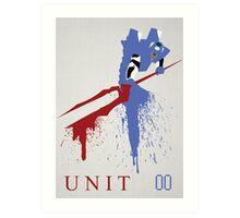 Unit 00 Art Print