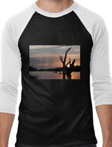 St George sunset Men's Baseball ¾ T-Shirt
