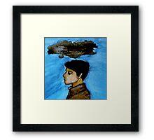 Clouds Over Castiel Framed Print