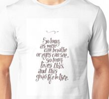 Sonnet 18 Unisex T-Shirt