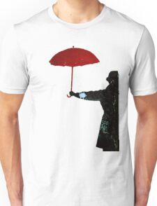 Red Umbrella Graffiti Unisex T-Shirt