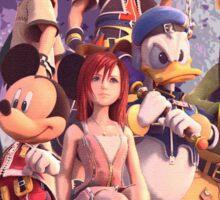Kingdom Hearts Gang Sticker