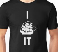 I SHIP IT (white lettering) Unisex T-Shirt