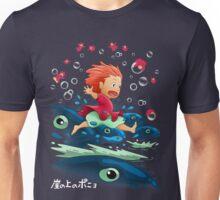 Goldfish by the Sea Unisex T-Shirt