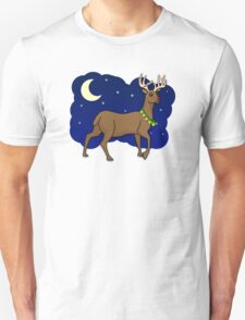 Night Reindeer T-Shirt