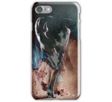 Fount ii (b) - Conté Drawing with mood texture iPhone Case/Skin