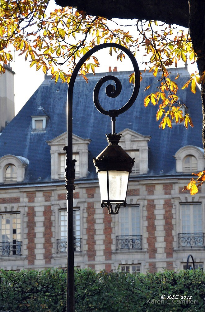 Lamp Parisien by Karen E Camilleri