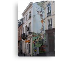 Brussel's wit  Metal Print