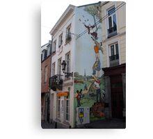 Brussel's wit  Canvas Print