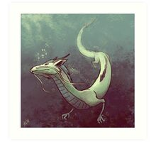 Haku. Spirited Away Art Print