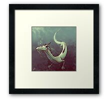 Haku. Spirited Away Framed Print