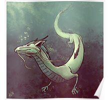 Haku. Spirited Away Poster