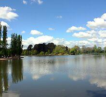 Lake Burley Griffin Landscape by sezza-imagery