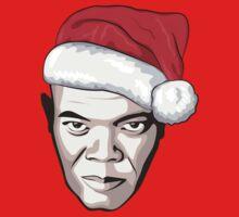 Samuel L. Jackson - Christmas T-Shirt Kids Clothes