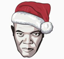 Samuel L. Jackson - Christmas T-Shirt Kids Clothes