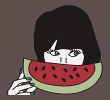 Zooey and the watermelon Baby Tee