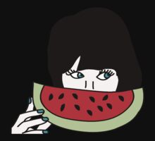 Zooey and the watermelon Kids Tee