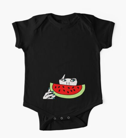 Zooey and the watermelon One Piece - Short Sleeve