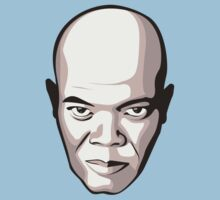 Samuel L. Jackson - Faces Of Awesome One Piece - Short Sleeve