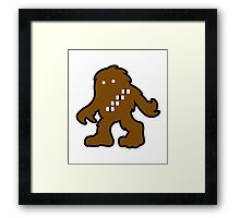 Solo Space Ape - Color Framed Print