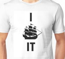 I SHIP IT (black lettering) Unisex T-Shirt