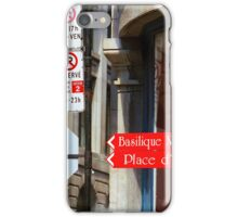 Montreal Street Scene iPhone Case/Skin